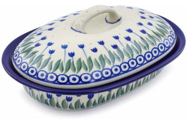 10 oz Covered Baker - 490AX | Polish Pottery House
