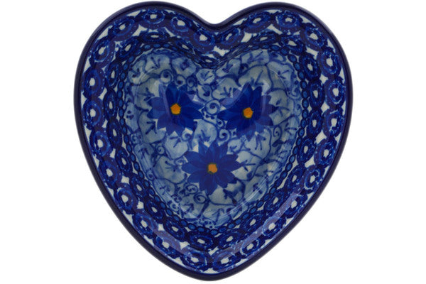7 oz Heart Bowl - U742 | Polish Pottery House