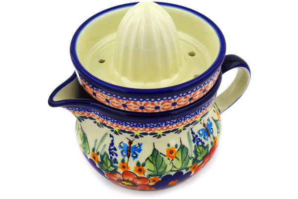 "4"" Juice Reamer with Jug - Butterfly Garden 