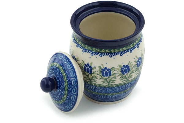 4 cup Canister - U392 | Polish Pottery House