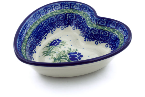 7 oz Heart Bowl - U392 | Polish Pottery House