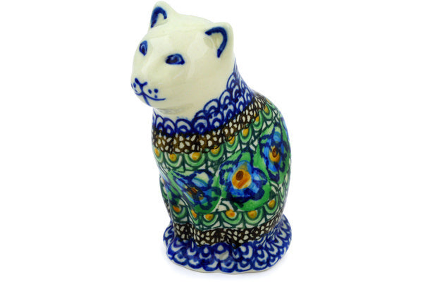 "5"" Cat Figurine - Moonlight Blossom 