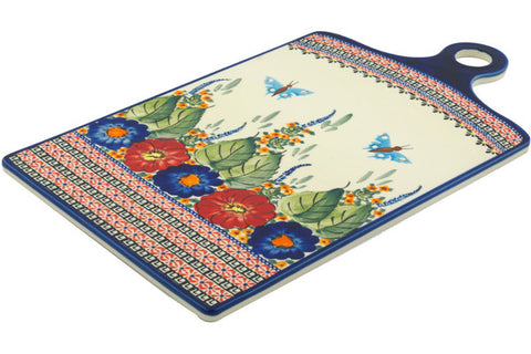 "18"" Cutting Board - Butterfly Garden 