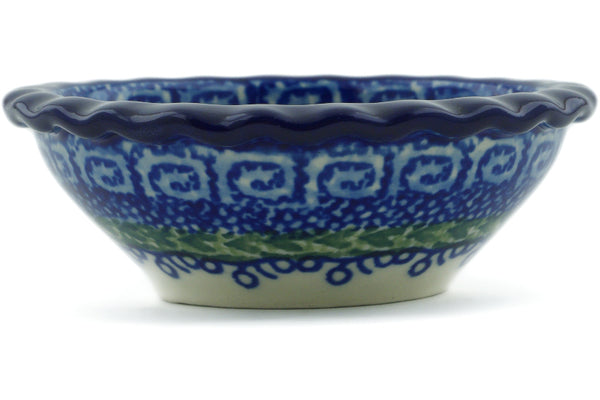 2 oz Scalloped Bowl - U392 | Polish Pottery House