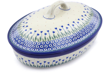 7 cup Covered Baker - 490AX | Polish Pottery House
