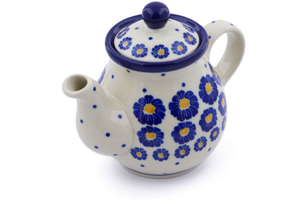12 oz Individual Tea Pot - P8824A | Polish Pottery House