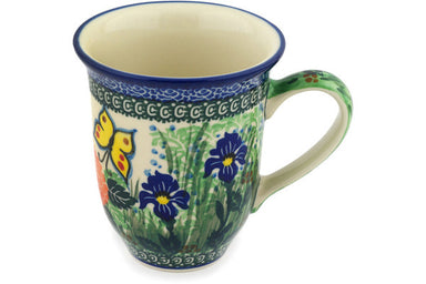 15 oz Mug - Spring Garden | Polish Pottery House