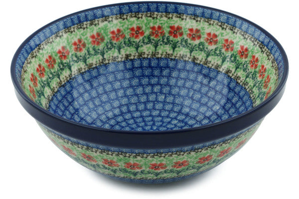 8 cup Serving Bowl - Cosmos | Polish Pottery House