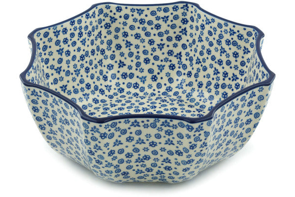 23 cup Serving Bowl - Confetti | Polish Pottery House