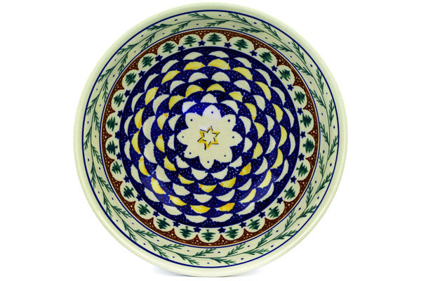 8 cup Serving Bowl - Evergreen | Polish Pottery House