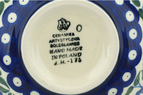 3 cup Cereal Bowl - Blue Bell | Polish Pottery House