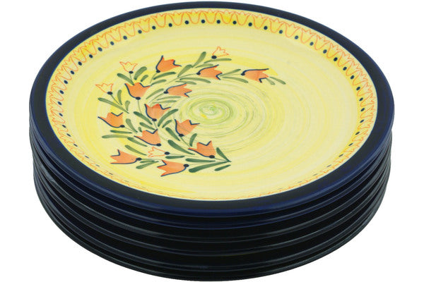 "11"" Set of 6 Dinner Plates - DU7 