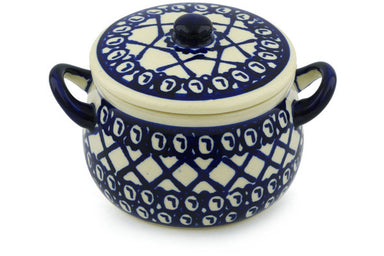 13 oz Soup Cup with Lid - 102 | Polish Pottery House