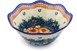 10 cup Fluted Bowl - D86 | Polish Pottery House