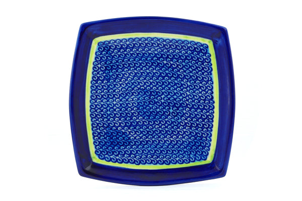 "7"" Square Salad Plate - D96 