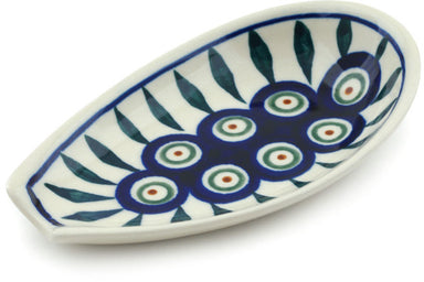 "5"" Spoon Rest - Peacock 