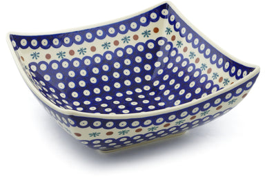 14 cup Square Bowl - Old Poland | Polish Pottery House