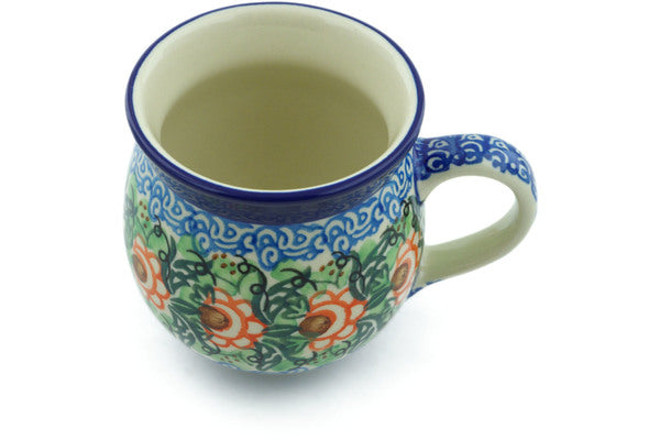 12 oz Bubble Mug - U1383 | Polish Pottery House