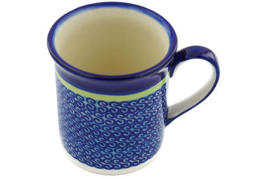 8 oz Mug - D96 | Polish Pottery House