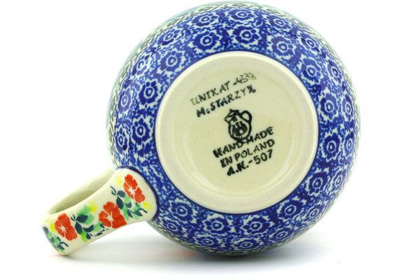15 oz Bubble Mug - U4578 | Polish Pottery House