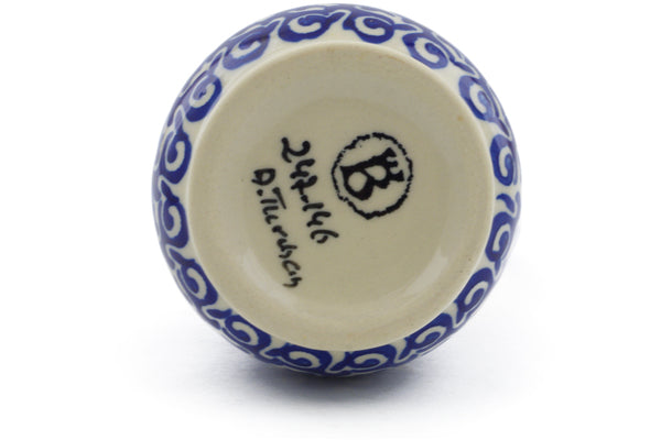 5 oz Bottle - D146 | Polish Pottery House