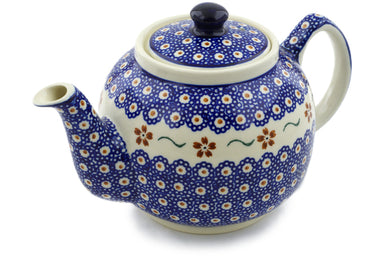 4 cup Tea Pot - 864 | Polish Pottery House