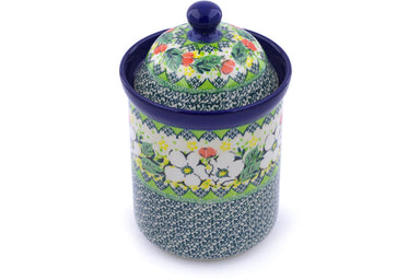 5 cup Canister - P9341A | Polish Pottery House