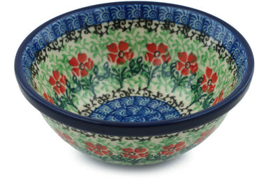 8 oz Dessert Bowl - Cosmos | Polish Pottery House
