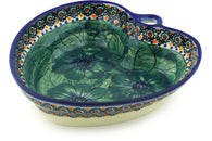 3 cup Heart Bowl - P4529A | Polish Pottery House