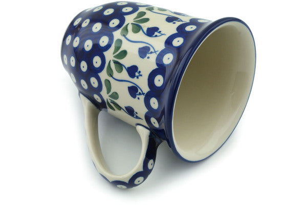 15 oz Mug - Blue Bell | Polish Pottery House