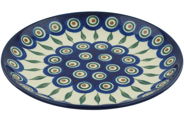"8"" Salad Plate - Blue Peacock 