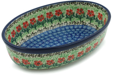 "8"" Oval Baker - Cosmos 