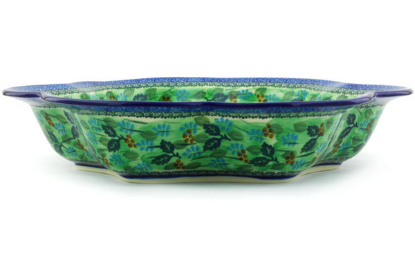 10 cup Serving Bowl - Whimsical | Polish Pottery House