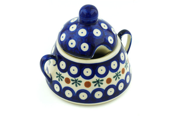 12 oz Sugar Bowl - Old Poland | Polish Pottery House