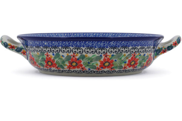 "8"" Round Baker with Handles - U3351 
