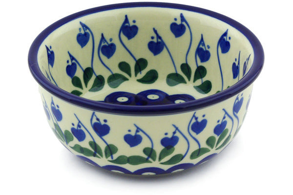 10 oz Dessert Bowl - Blue Bell | Polish Pottery House
