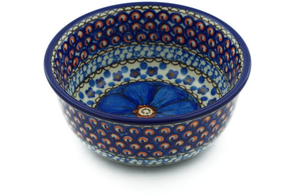10 oz Dessert Bowl - Fiolek | Polish Pottery House