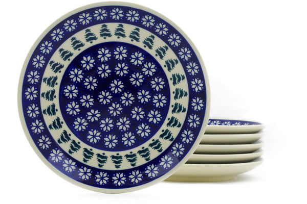 "8"" Set of 6 Salad Plates - 914 