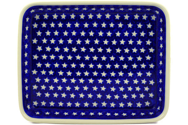"11"" x 13"" Rectangular Baker - Stars & Stripes 