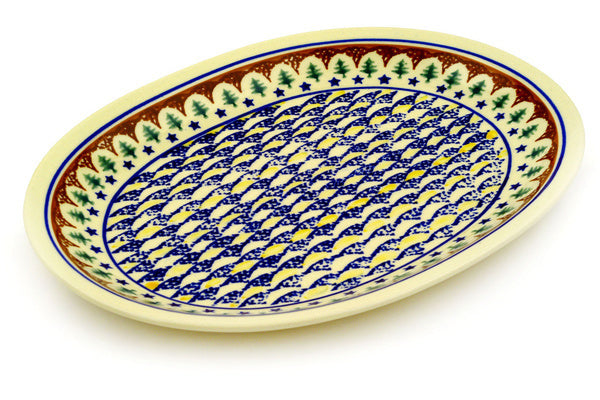 "13"" Platter - Evergreen 