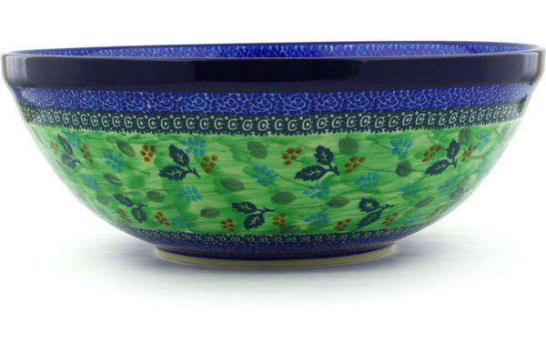 21 cup Serving Bowl - Whimsical | Polish Pottery House