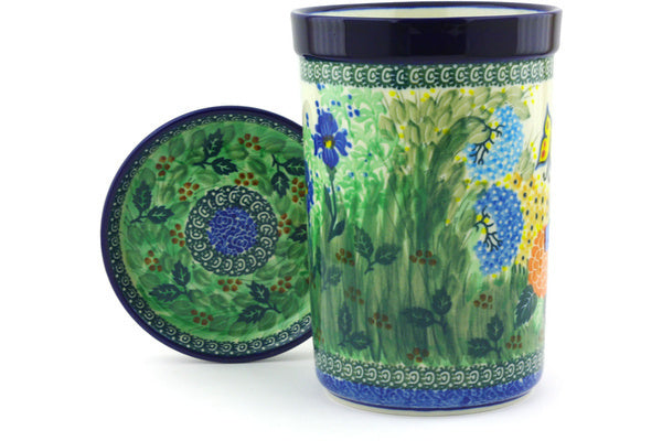 "8"" Bottle Chill with Saucer - Spring Garden 