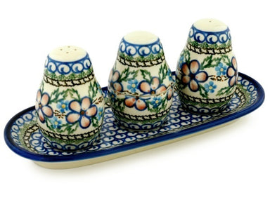 "10"" Salt and Pepper with Toothpick Holder - 573X 