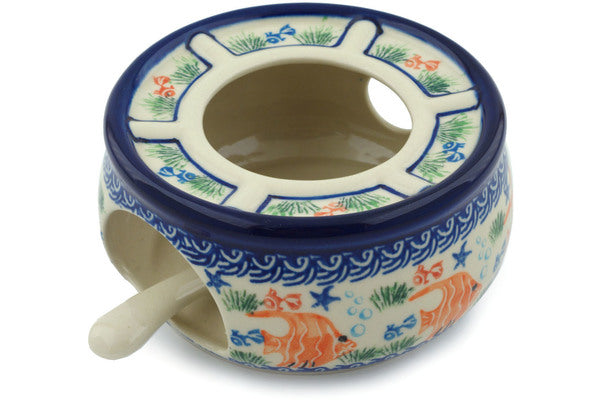 "5"" Warmer with Candle Holder - 1317X 
