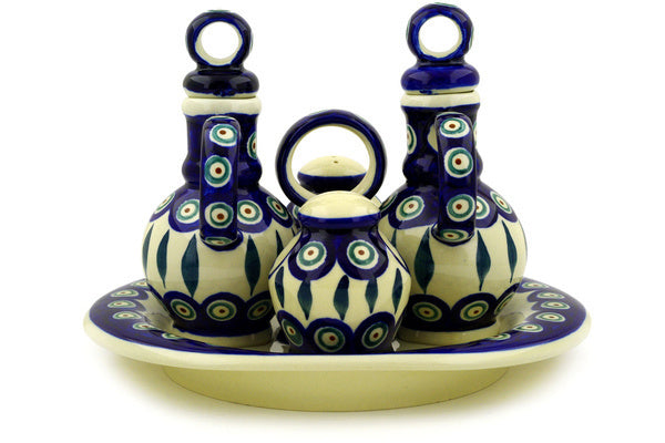"7"" Seasoning Set - Peacock 