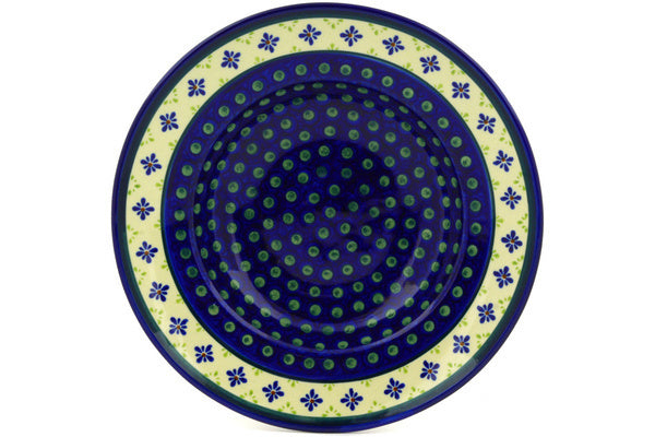 "11"" Pasta Bowl - Emerald Isle 