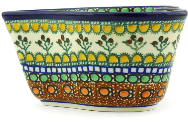 19 oz Heart Bowl - Desert Sun | Polish Pottery House