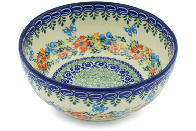 4 cup Serving Bowl - D156 | Polish Pottery House