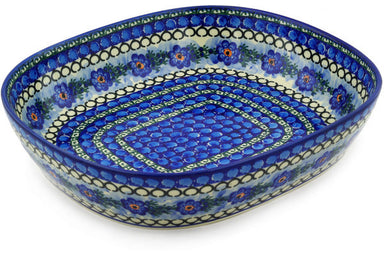 16 cup Serving Bowl - U488 | Polish Pottery House