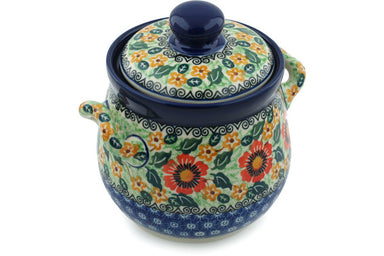 4 cup Canister - U1733 | Polish Pottery House